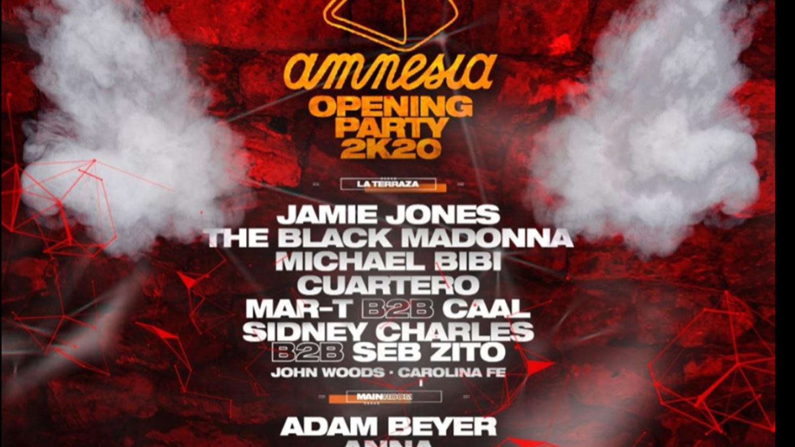 amnesia opening 2020