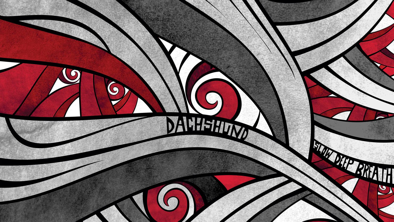 GRU105 ARTWORK Dachshund - Slow Deep Breath EP - Gruuv