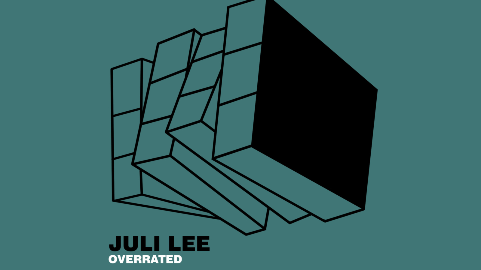 MYR19 PACKSHOT Juli Lee - Overrated - MYR