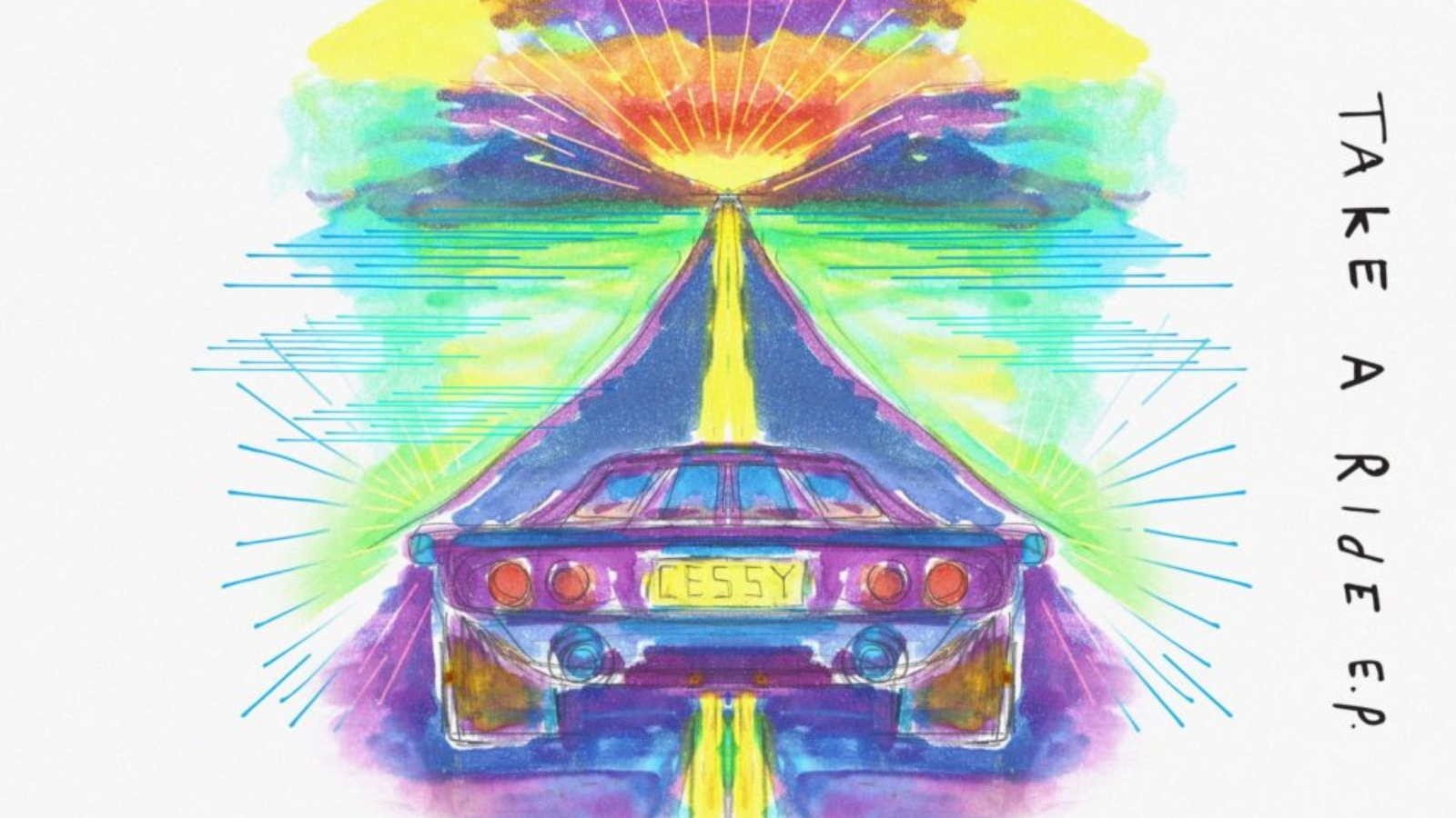 NOART031 Cover Cessy - Take A Ride EP - No Art