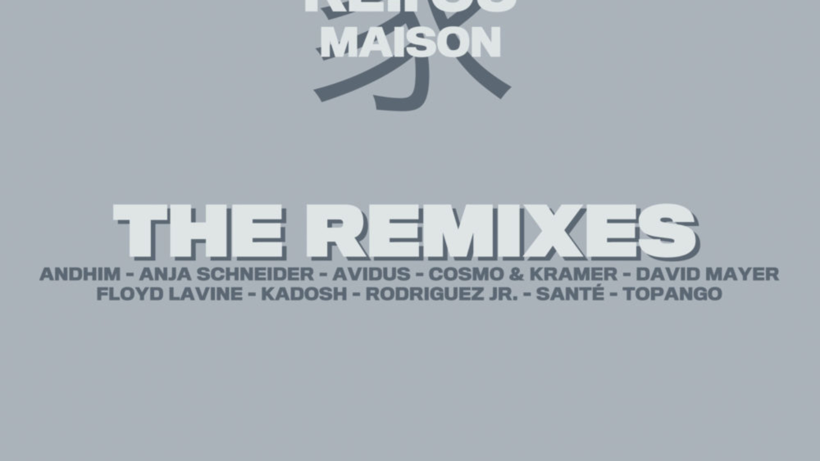 connected061 ARTWORK Re.You - Maison - The Remixes - connected