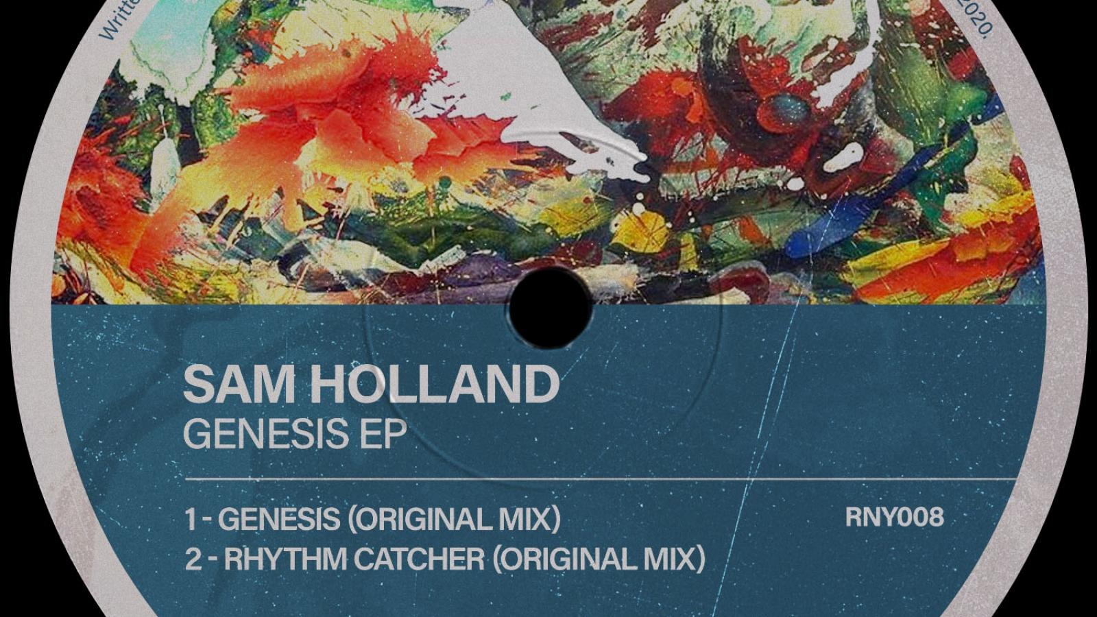 PACKSHOT Sam Holland - Genesis EP - Revival New York